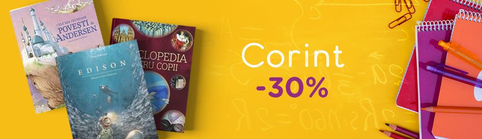 Oferta Libris: Editura Corint - reduceri de 30-50%
