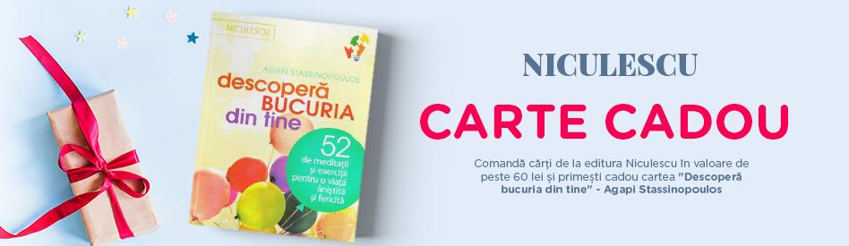 Oferta Libris: Editura Niculescu - reducere de 5% + carte cadou
