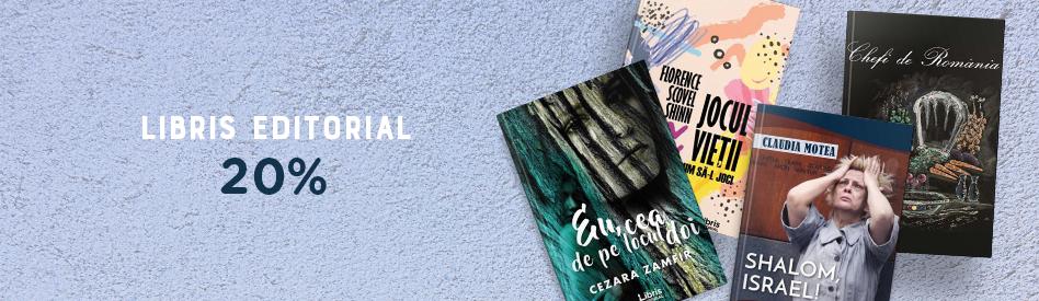 Oferta Libris: Editura Libris Editorial - reducere 20%