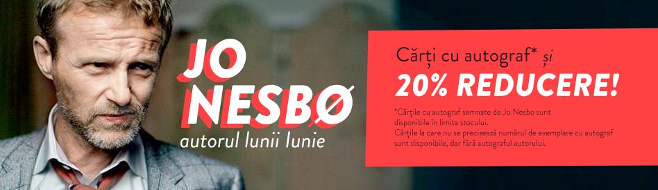 Oferta Libris: Autorul lunii - Jo Nesbo: reducere 20% + carte cu autograf