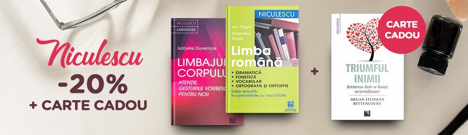 Oferta Libris: Editura Niculescu - reducere de 5%+carte cadou