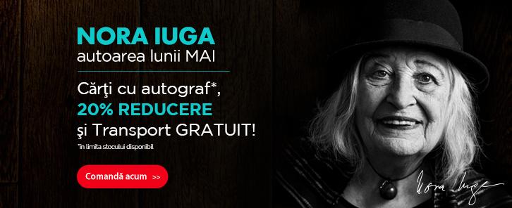 Autorul lunii la Libris: Nora Iuga - reducere de 20% + Carte cu autograf