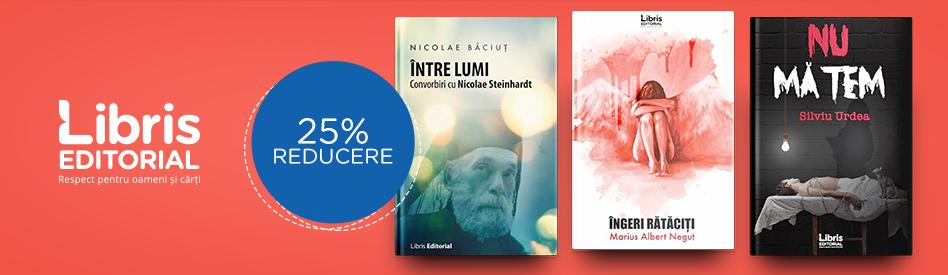 Oferta Libris Editorial - reducere de 25%