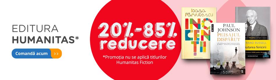 Editura Humanitas - reduceri de 20-85%