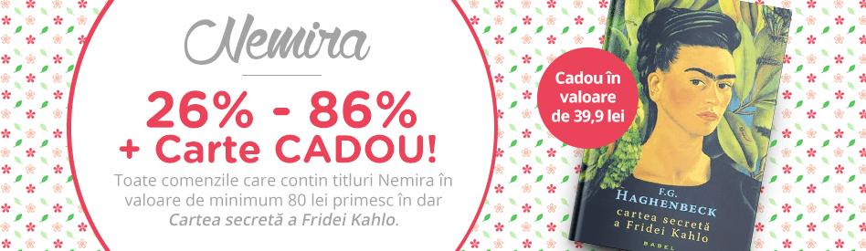 Editura Nemira - reduceri de 26-86% + carte cadou