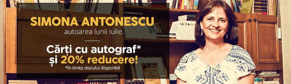 Autorul lunii la Libris: Simona Antonescu - 20% + cărţi cu autograf