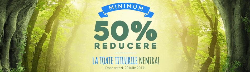 Editura Nemira - reduceri de 50-95% + carte cadou