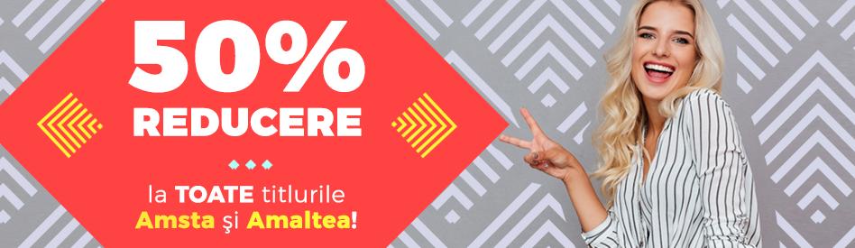 Oferta Libris - Editurile Amsta + Amaltea: reduceri de 50%