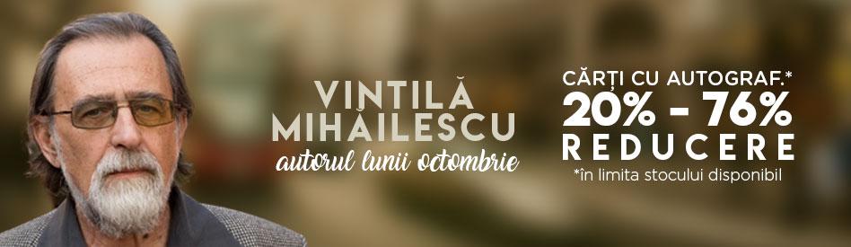 Autorul lunii la Libris: Vintilă Mihăilescu - reducere 20-76% şi cărţi cu autograf