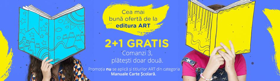 Editura Art: 2+1 gratis