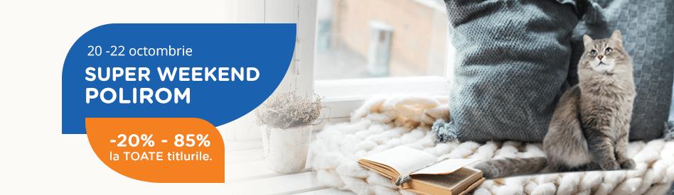 Oferta Libris: Weekend Polirom - reduceri de 20-85%