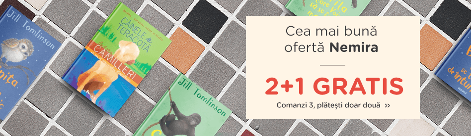 Oferta Libris: Editura Nemira 2+1 gratis