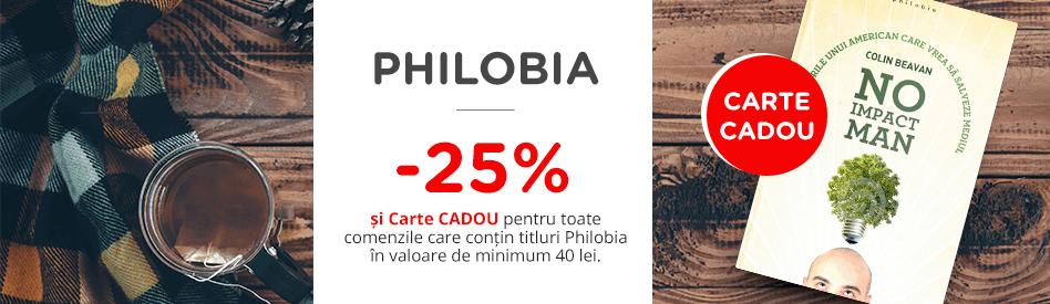 Oferta Libris: Editura Philobia - reducere de 25% + carte cadou