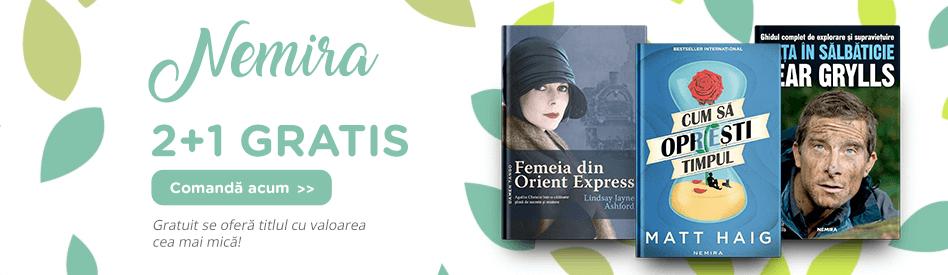 Editura Nemira 2+1 gratis
