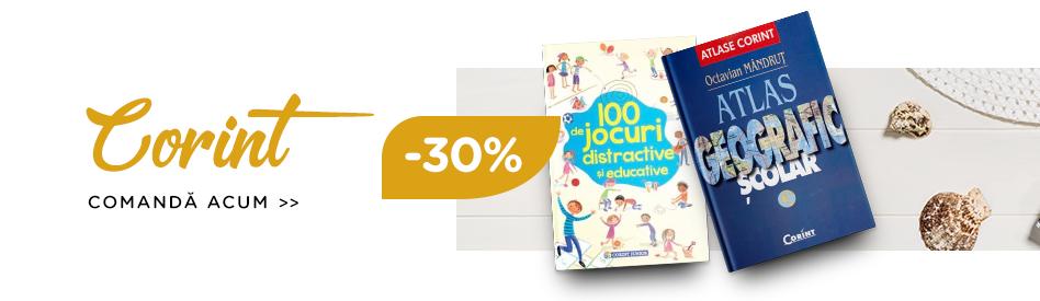 Oferta Libris: Editura Corint - reduceri de 30%