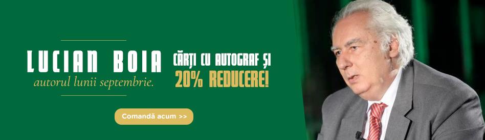 Oferta Libris: Autorul lunii - Lucian Boia - reducere 20%