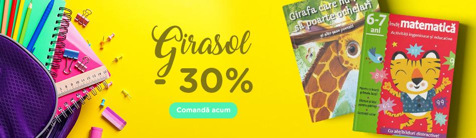 Oferta Libris: Editura Girasol- reducere de 30%
