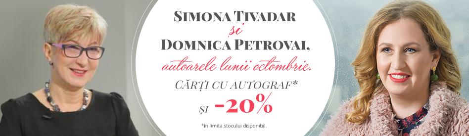 Oferta Libris: Autoarele lunii - Simona Tivadar & Dominica Petrovai - reducere 20%