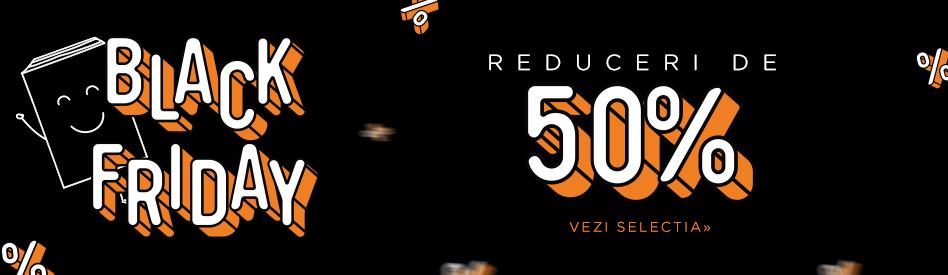 Oferta zilei la Libris: Black Friday - reduceri de până la 97%