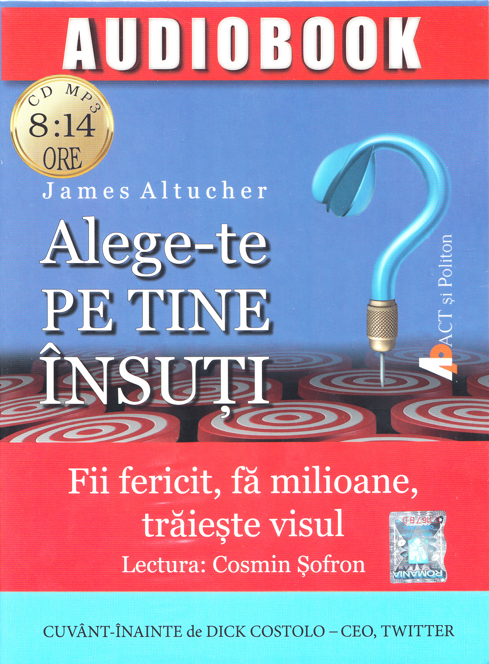 Alege-te pe tine insuti. Audiobook - James Altucher thumbnail