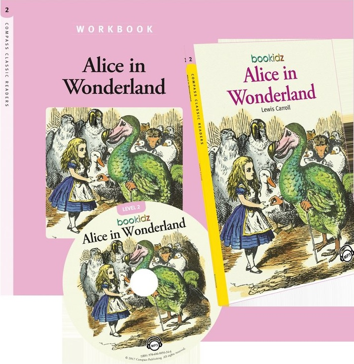 Alice In Wonderland - Lewis Carroll (Compass Classic Readers Nivelul 2) thumbnail