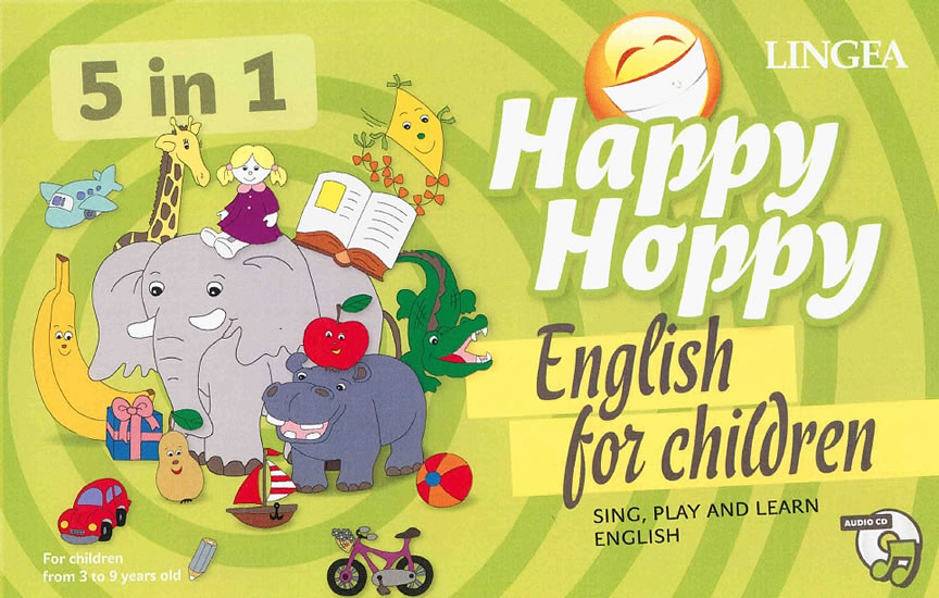 Happy Hoppy, English for children 5 in 1: Sing, play and learn english thumbnail