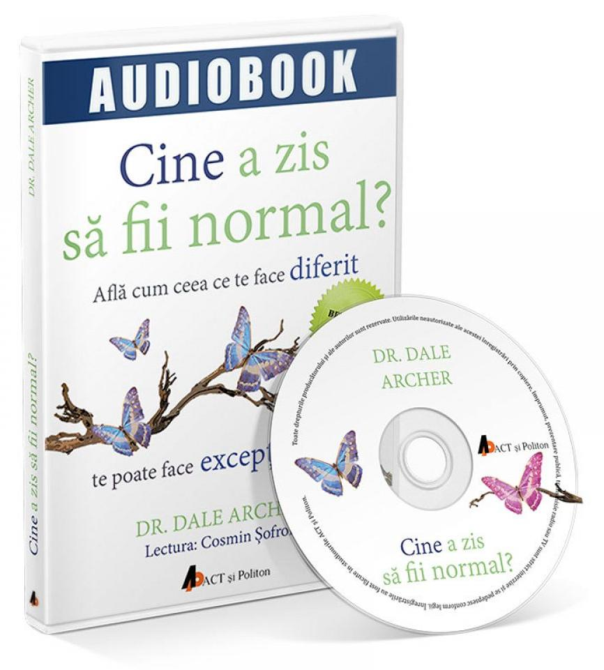 CD Cine a zis sa fii normal? - Dale Archer thumbnail