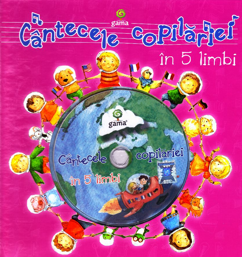 Cantecele copilariei in 5 limbi + CD thumbnail
