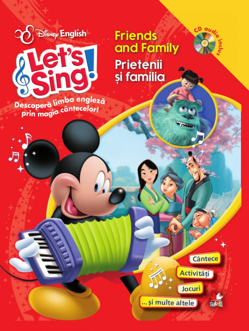 Let's sing! - Friends and family - Prietenii si familia - Carte+CD thumbnail