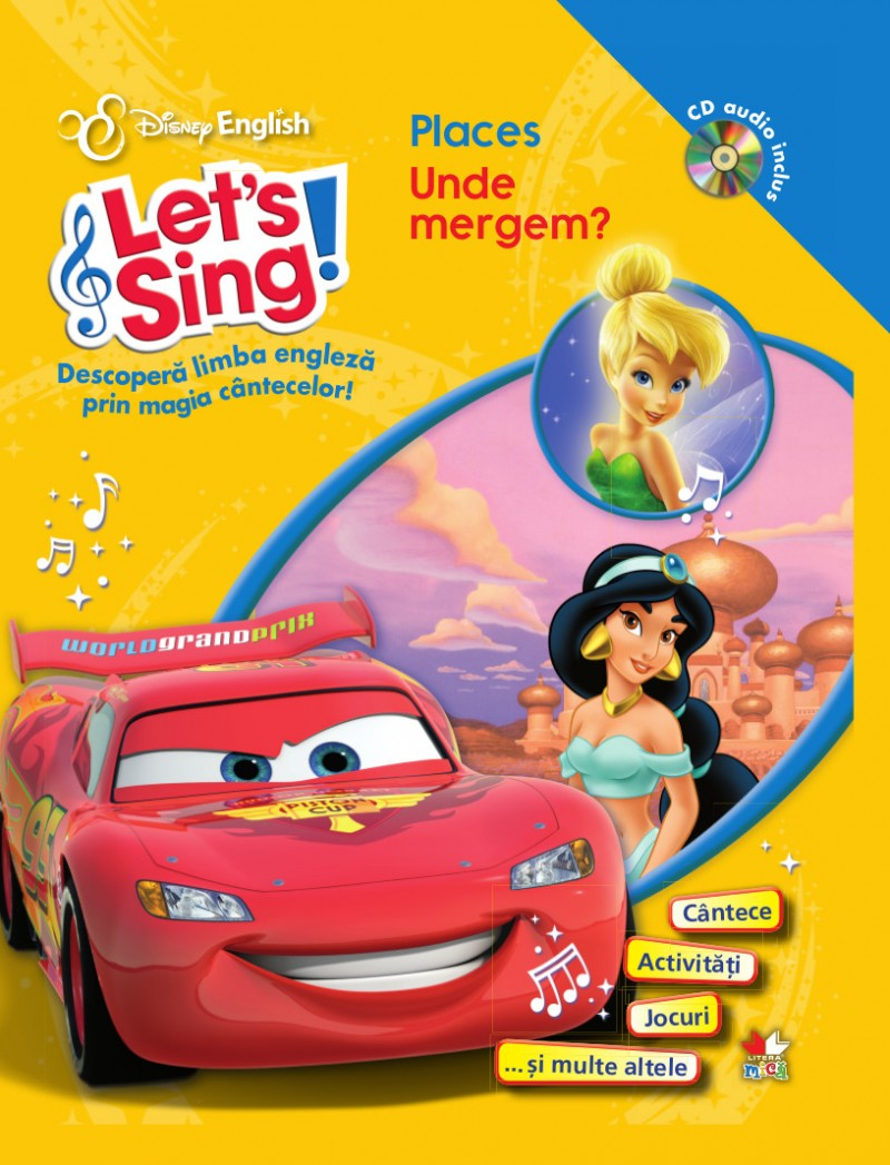 Let's sing! - Places - Unde mergem? - Carte+CD thumbnail