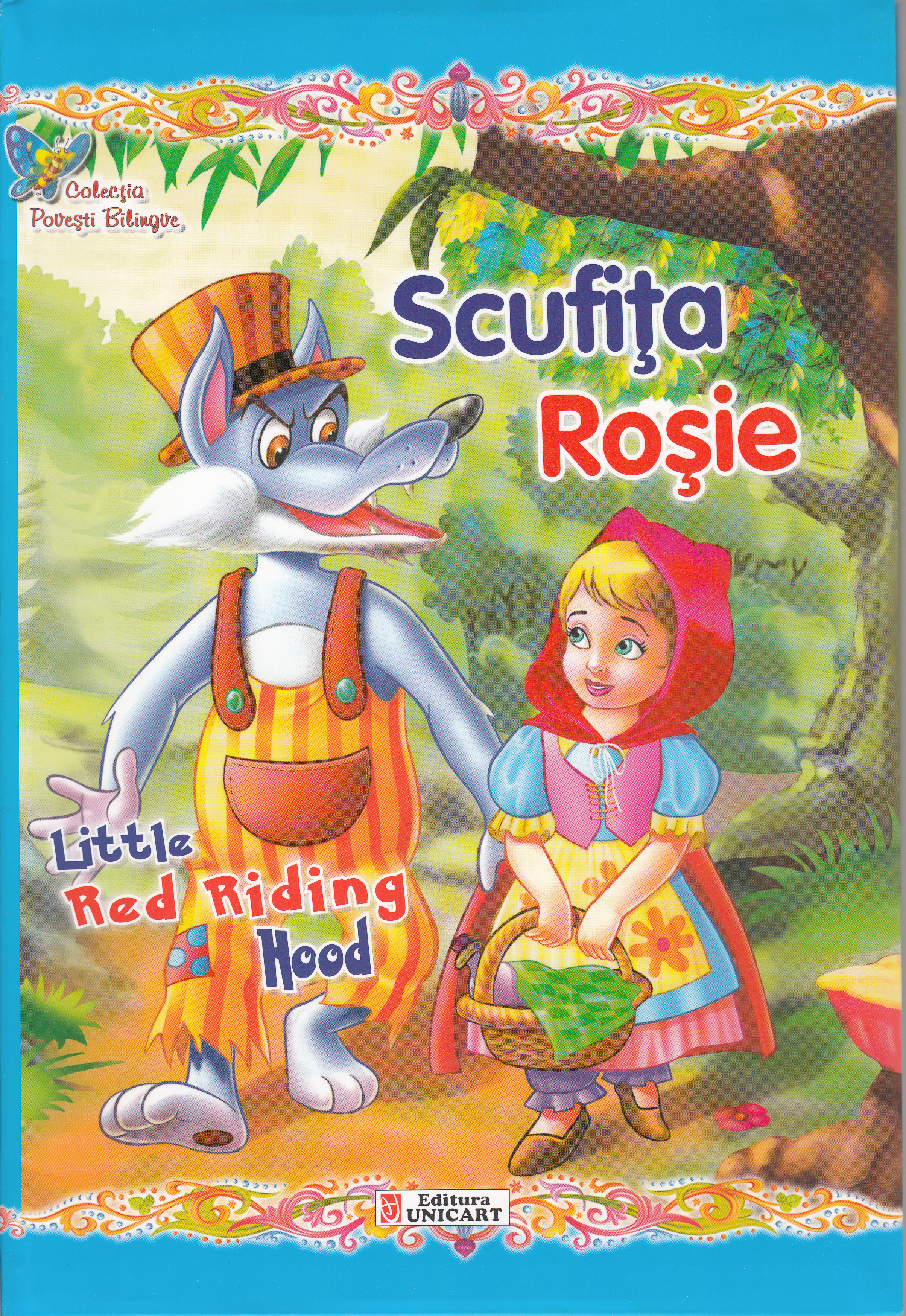Scufita Rosie. Little Red Riding Hood thumbnail