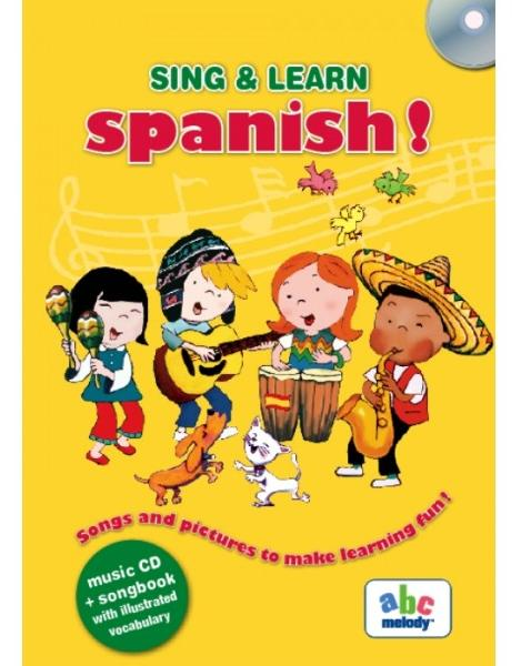 Sing and learn spanish! + CD thumbnail