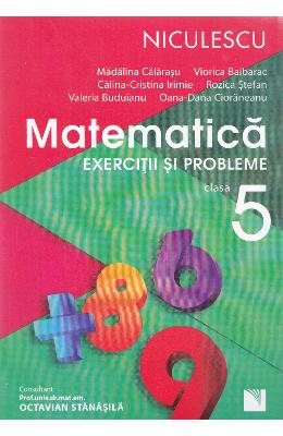 Matematica Cls 5 Exercitii Si Probleme Ed.2016 - M