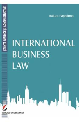 International Business Law - Raluca Papadima