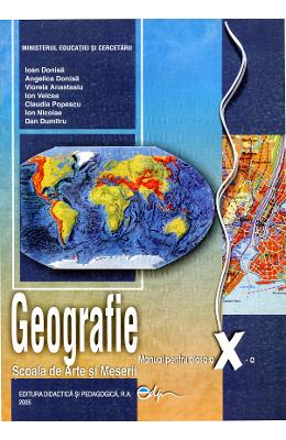 Geografie Cls 10 Sam - Ioan Donisa  Angelica Donisa