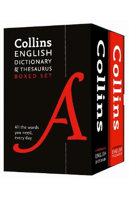Collins English Dictionary and Thesaurus Boxed Set - Collins Dictionaries