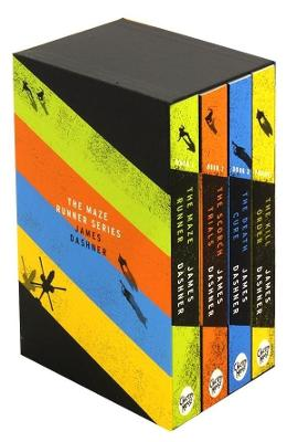 Maze Runner Series - Box Set - James Dashner