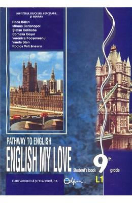Engleza Cls 9 L1 Manual English My Love Ed.2015 -