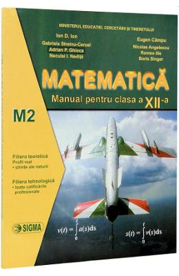 Matematica Cls A Xii-a M2 - Ion D. Ion  Eugen Camp
