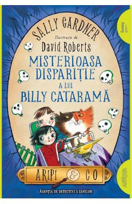 Misterioasa disparitie a lui Billy Catarama (Aripi si Co. Vol. 3) - Sally Gardner, David Roberts