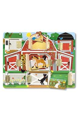 Hide and seek, Farm. Puzzle magnetic, Ascunde si descopera