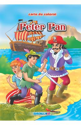 Peter Pan - Carte de colorat