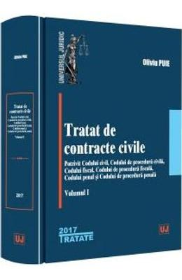 Tratat de contracte civile Vol.1 - Oliviu Puie