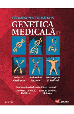 Thompson and Thompson. Genetica medicala Ed. 8 – Robert L. Nussbaum de la libris.ro