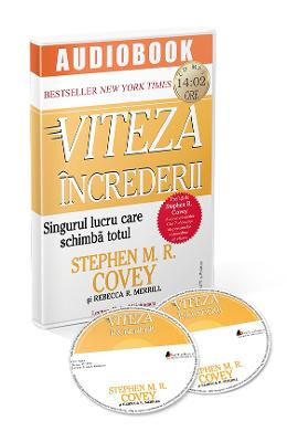 Audiobook. Viteza increderii - Stephen M. R. Covey