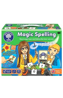 Magic spelling. Silabisirea magica