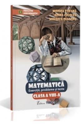 Matematica Cls 8 Exercitii  Probleme Si Teste - Mo