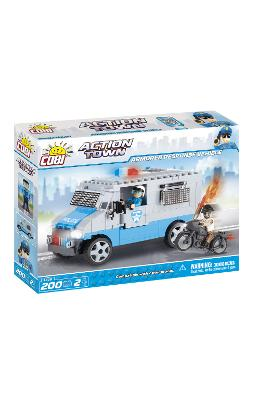 Action Town Cobi 200 Pcs - Vehicul Blindat