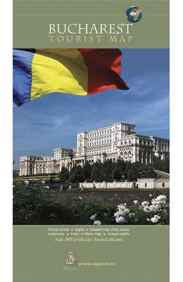 Harta bucuresti. Bucharest tourist map