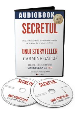 Imagine Audiobook - Secretul Unui Storyteller - Carmine Gallo